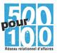 Logo 500 pour 100